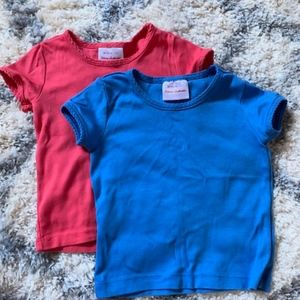 2 Hanna Andersson Short Sleeve Shirts